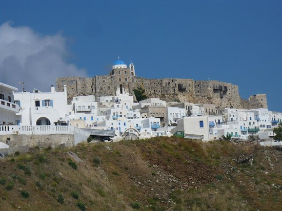 Tholaria Boutique Hotel Astypalaia: view from the room