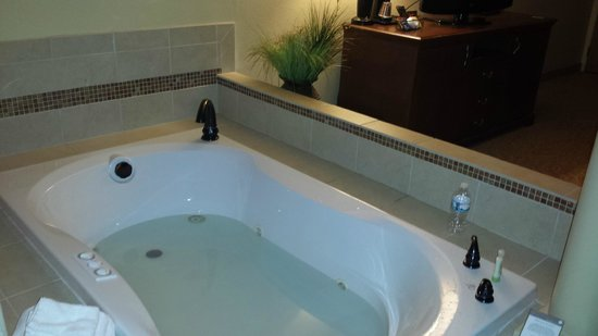 Country Inn & Suites By Carlson, Fargo: hot tub in room
