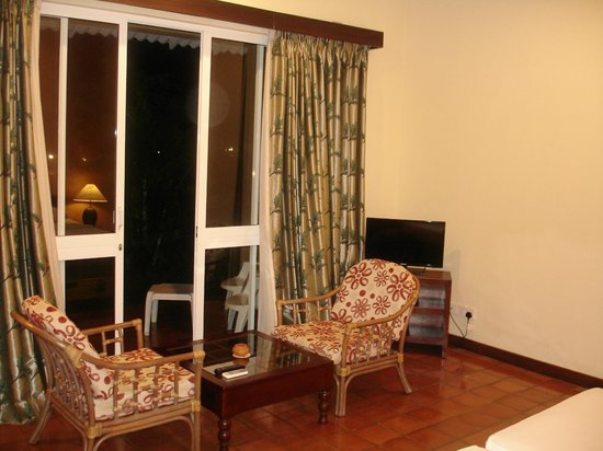 Club Palm Bay Hotel: вид на терассу