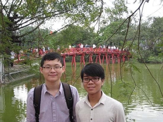 HanoiKids Tour: hanoi kids who looked after us in February