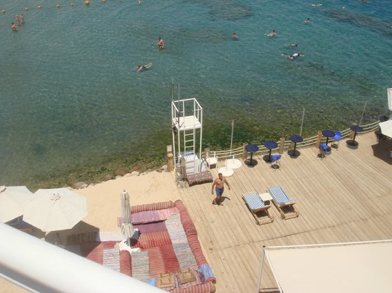Lido Sharm Hotel : view from roof pool