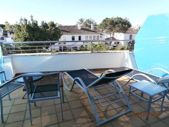 Senator Banus Spa Hotel: terrasse
