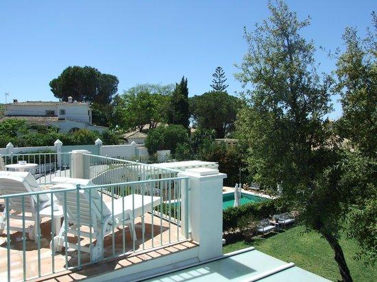 Casa Luna Verde: Vue du balcon