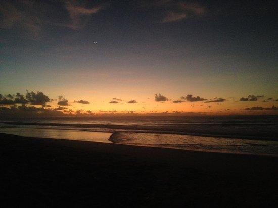 Pousada Tabapitanga: Nascer do Sol na Praia