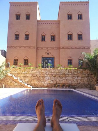 Riad Bouchedor: View from the pool