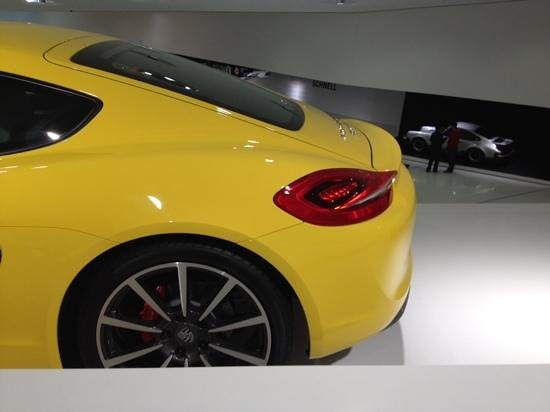 Porsche-Museum: cayman