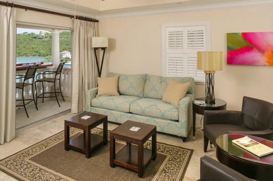 Grande Bay Resort : Club 1 Bedroom Living Room