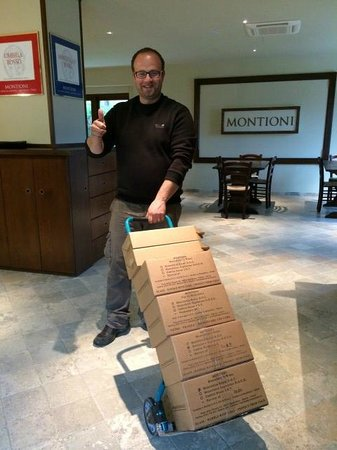 Montioni, Oil Mill & Winery: The owner with our acquisitions.