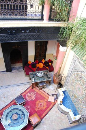 Riad Princesse du Desert: View from the first floor