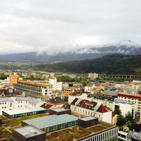 Hilton Innsbruck : View from the Room