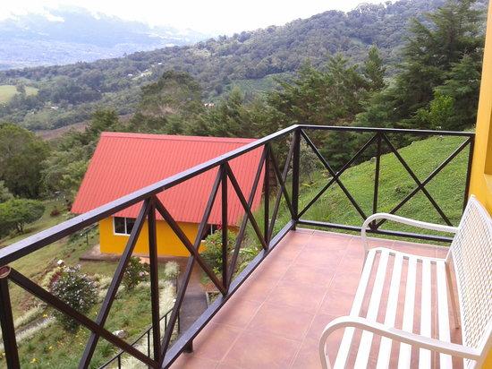 Cabanas El Parador: Balcón