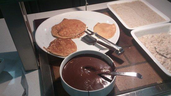 Hotel Hispania : petit dejeuner