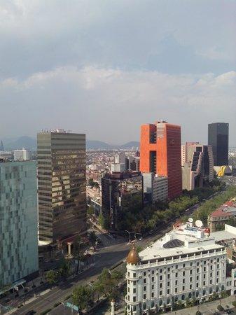 Fiesta Americana Reforma: Vista dede piso 21.