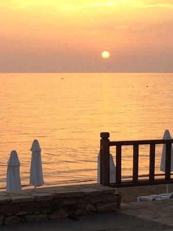 Sunprime Dogan Side Beach: utsikt fra restauranten