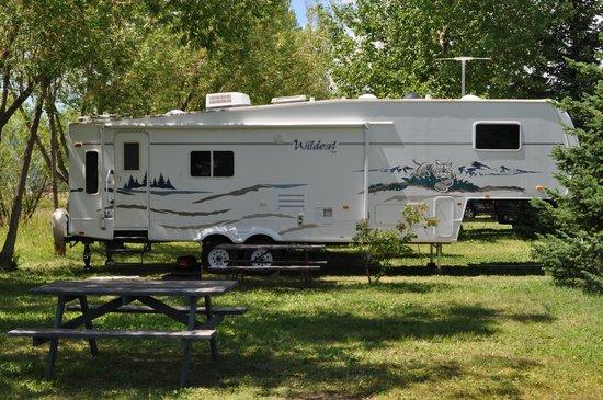 Teton Valley RV Park : RV spot