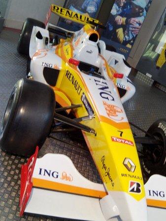 Museo de la Historia de la Automoción: Renault Formula 1