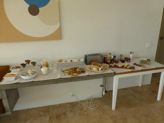 Villa Zest Boutique Hotel: Breakfast selection