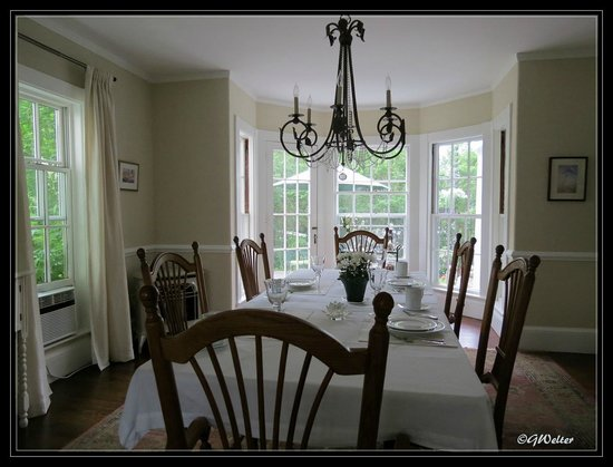 Beech Tree B&B : Dining Room