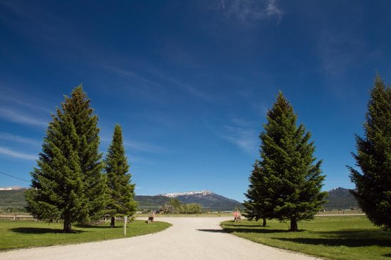 Teton Valley RV Park: Entry to Teton Vally RV Park