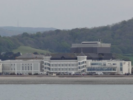 Venue Cymru: Zoomed view from Pier