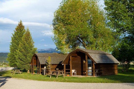 Teton Valley RV Park : Rental Cabins at the park