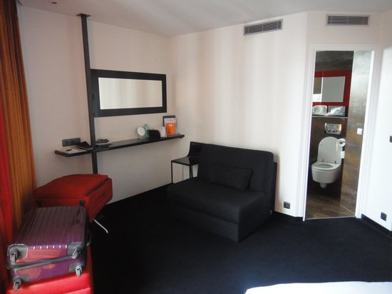 Hotel le Chat Noir: Chambre
