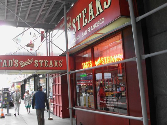 Tad's Broiled Steaks Times Sqr
