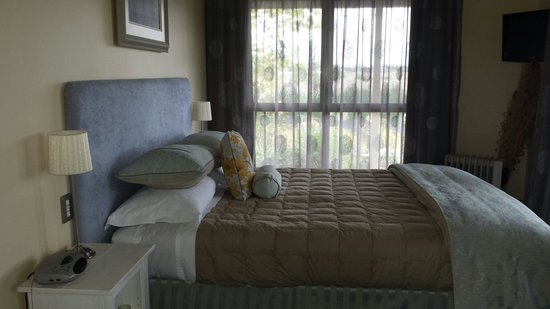 Hawkdun Rise Vineyard & Accommodation: A room with a fabulous view