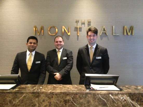 The Montcalm London Marble Arch : The best in the business: The wonderful night staff team, May 3 2014