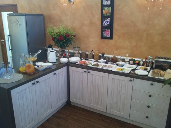 Namib Guesthouse : Breakfast buffet