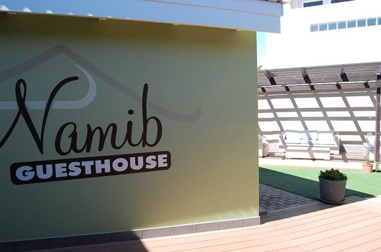 Namib Guesthouse: Passageway