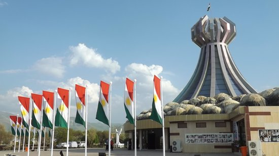 Halabja, อิรัก: Minnesmerke over gassangrep 16.mars 1988