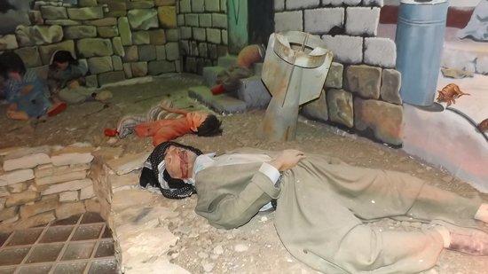 Halabja, Iraq: Fra museet over de ofrene for Sadams utrenskninger av kurdere.