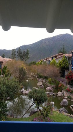 Aranwa Sacred Valley Hotel & Wellness : View from our balcony