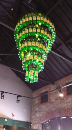 Old Midleton Distillery : Chandelier in reception area