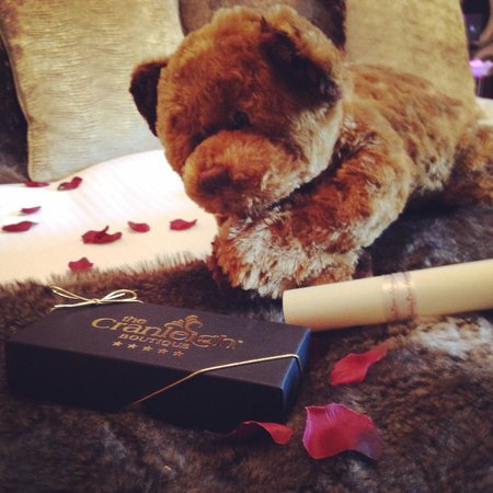 Cranleigh Boutique: Bear and chocolates