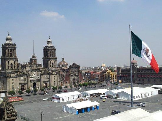 Gran Hotel Ciudad de Mexico : Vista do Restaurante  do hotel