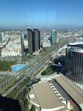Top of the Hyatt: downtown San Diego
