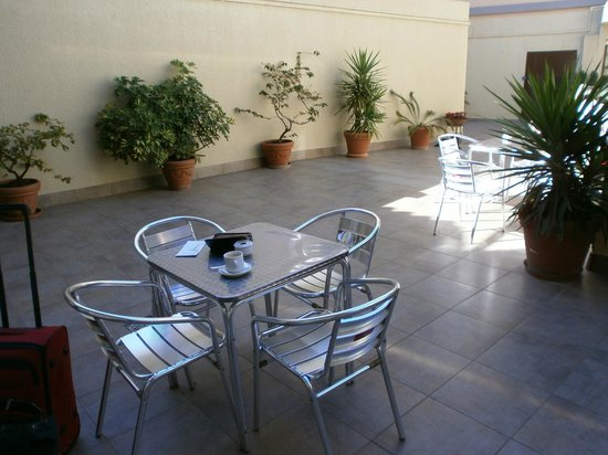 Ciutat de Sant Adria Hotel : Terrace