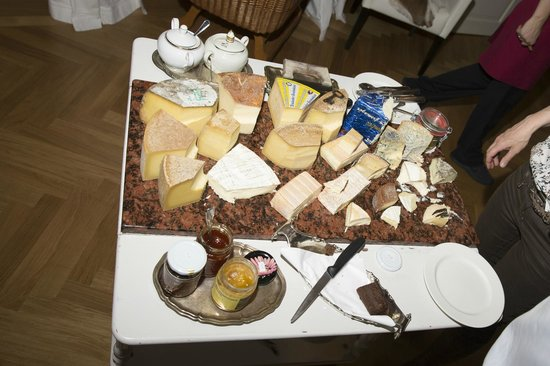 Boutique Hotel Schlüssel: Käseplateau