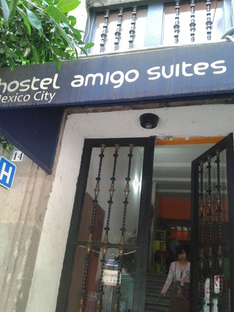 Hostel Amigo Suites : Entrada