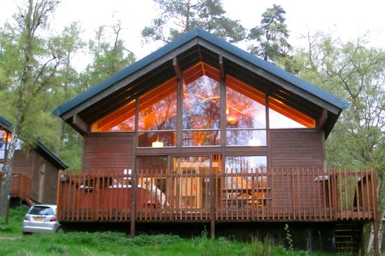 Silver birch cabin no 31 adjacent to forest land picture for Log cabins for sale north yorkshire