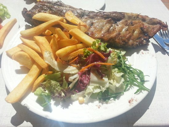 Tex Mex Restaurant : Lunch Special 11am till 5pm 30cm long ribs €7.95 taste