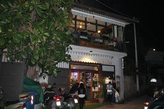 Tico Tico: l'ingresso del locale
