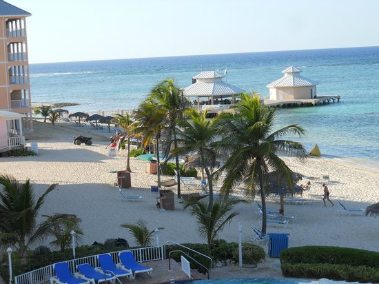 David's Deep Blue : View from the balcony