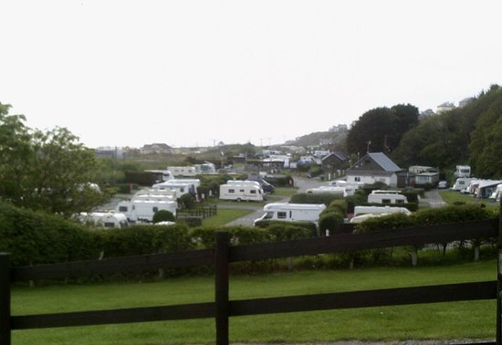 Hendre Mynach Caravan Park : The site