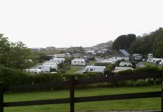 Hendre Mynach Caravan Park: The site