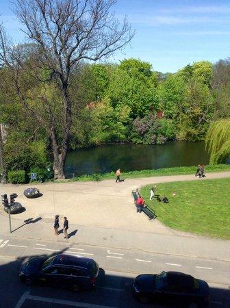 Babette Guldsmeden - Guldsmeden Hotels : The view from the 3rd floor