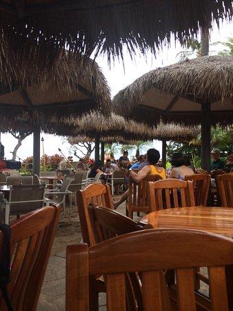 Hula Grill Kaanapali : Outdoor seating
