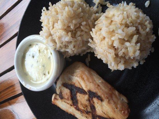 Hula Grill Kaanapali : fish & rice